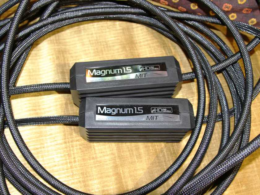 MIT MAGNUM M1.5 RCA RARE 5M PR, TRADE-IN, XLNT, PRICE DROP!