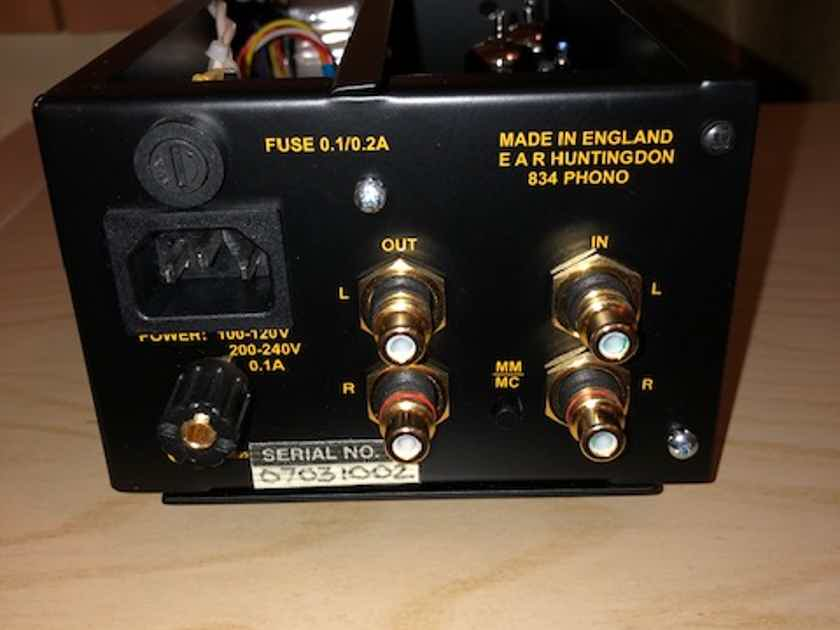 EAR 834P Chrome Deluxe Phono preamp. Price reduction