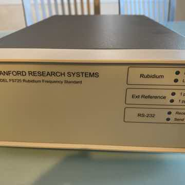 SRS (Stanford Research System) FS725 Clock