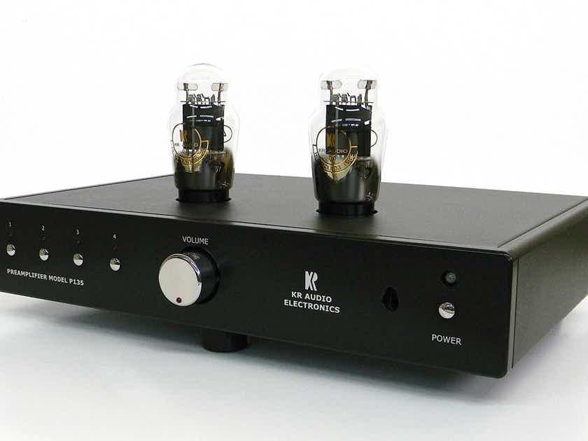 KR Audio P135 Pre Amplifier w/MC Phono - Showroom demo unit excellent condition
