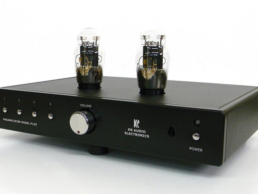 KR Audio P135 MC Pre Amplifier w/MC Phono - small footprint, big sound