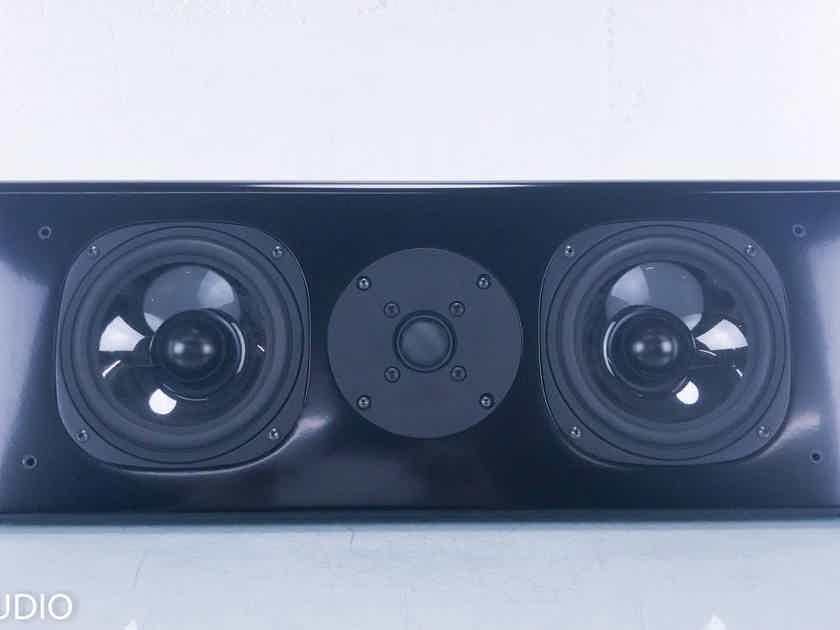 Vienna Acoustics Waltz Bookshelf / Center Speaker Single Black Speaker (14348)