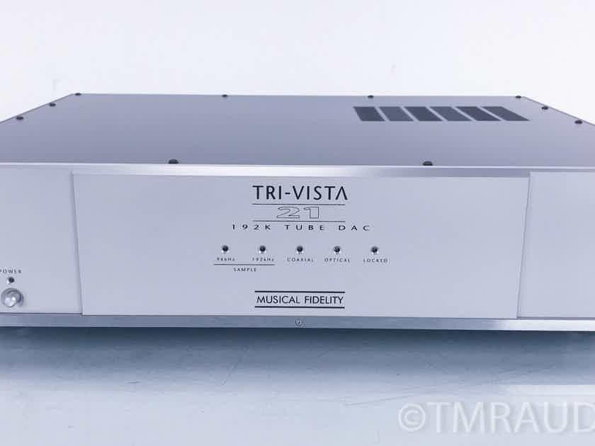 Musical Fidelity Tri-Vista 21 Tube DAC; D/A Converter (2807)