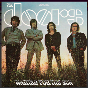 "The Doors ""Waiting for the Sun""  DCC 24k Gold CD"