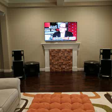 system used in Goldmund Satya active speakers with Rel 25 Subs