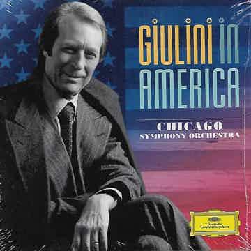 Giulini in America: Chicago - 5 CD  DG