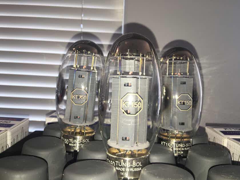 Tung-Sol KT-150 Vacuum Tubes (n=8)