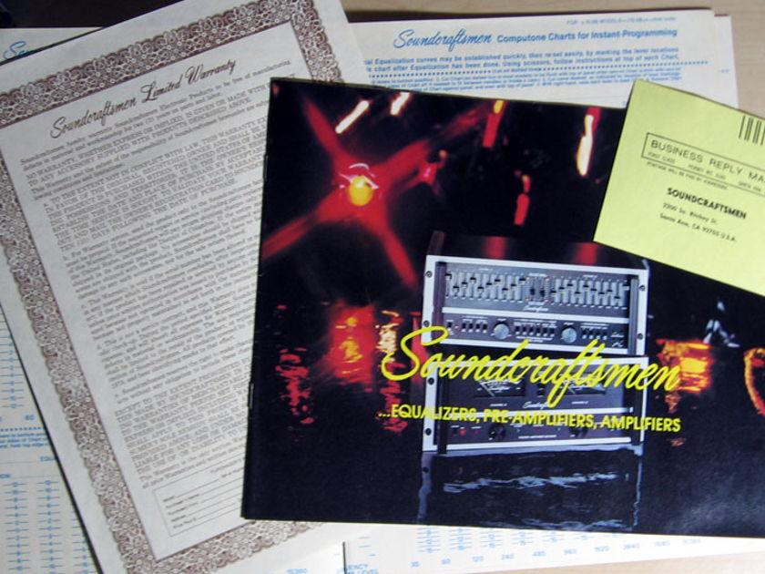 Soundcraftsmen - Instructional Test Record  - 1976 Soundcraftsmen ITR-6791