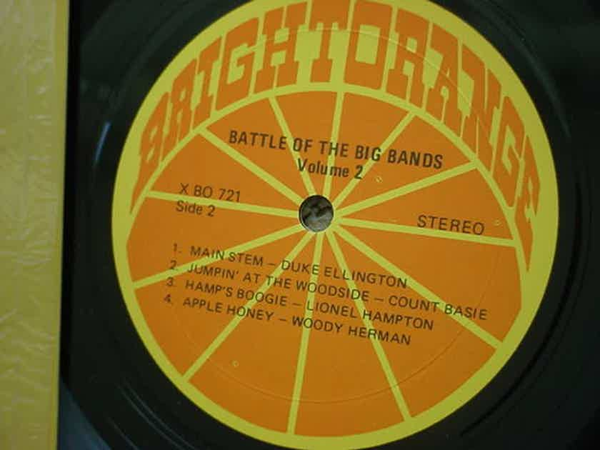 jazz Battle of the big bands vol2 - lp record shrink Bright Orange x-BO-721 lbl