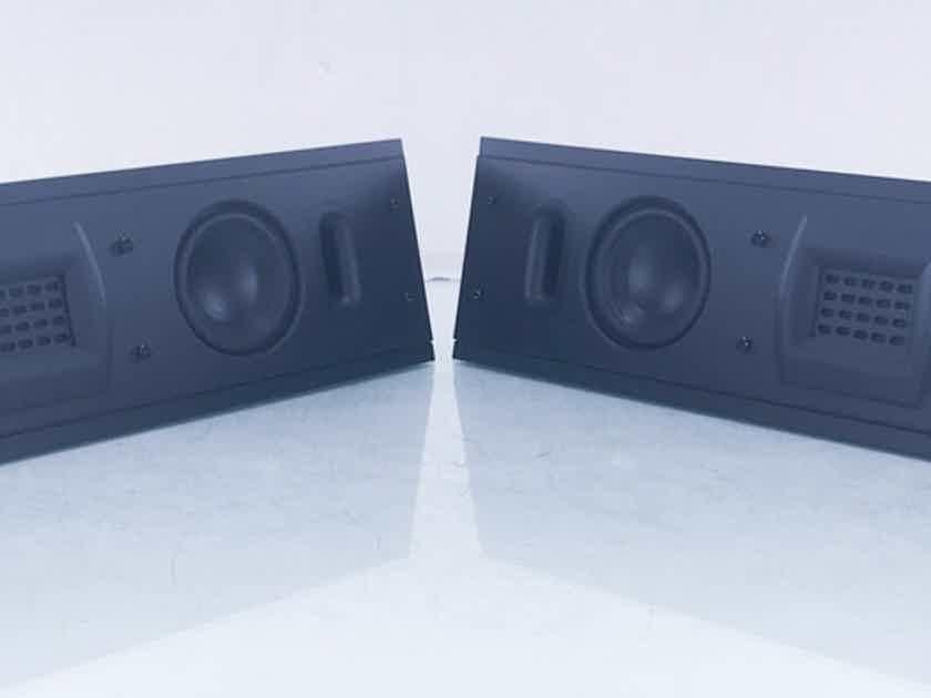 Martin Logan Encore TF Center Channel / Surround Speakers Black Pair (14547)