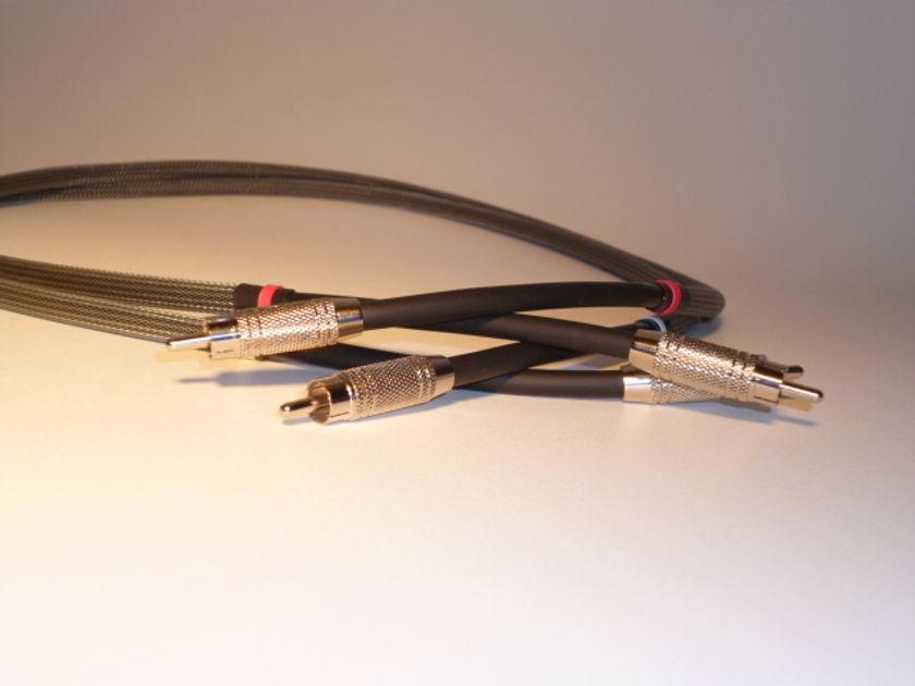 Schmitt Custom Audio ProCo-HD Silver/Nickel RCA Interconnects 1pr 1M
