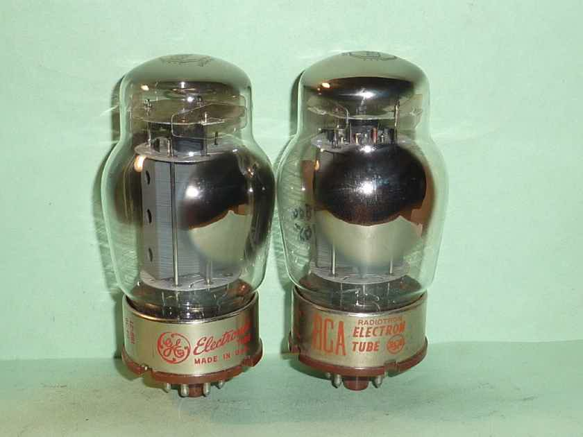 Tung-Sol 6550 Original Issue Tubes, Matched Pair, Tested, NOS