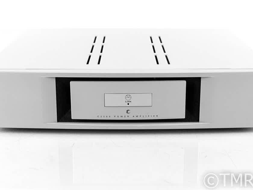 Linn Chakra C2200 Stereo Power Amplifier; C-2200 (21143)