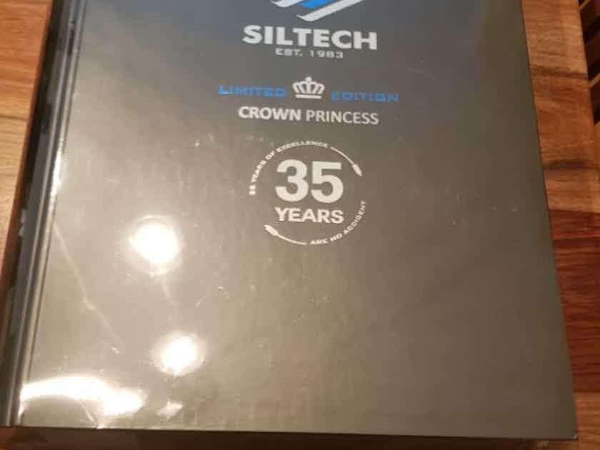Siltech Cables Crown Princess 35 Year Anniversary 1.0m RCA BNIB