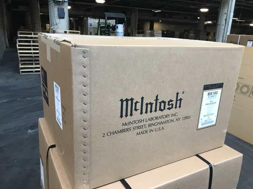McIntosh MX-160 Home Theater Audio-Video Processor/Preamplifier- NEW IN BOX