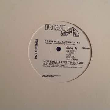 Hall & Oates How Does It Feel To Be Back RCA Records Pr...