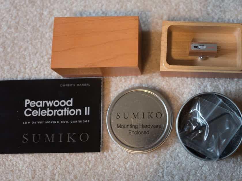 Sumiko Pearwood Celebration II MC Phono Mint One-Owner Like New