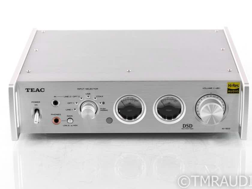 Teac AI-503 Stereo Integrated Amplifier; AI503; Remote; Bluetooth (29322)