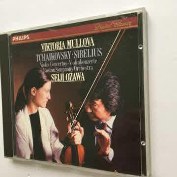 Tchaikovsky Sibelius violin concertos Cd Philips