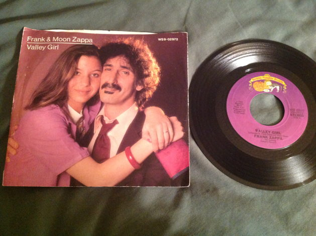 Frank And Moon Zappa 45 With Picture Sleeve