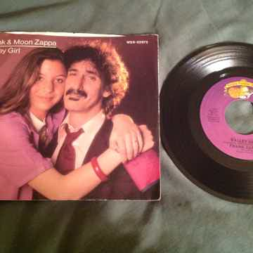 Frank And Moon Zappa 45 With Picture Sleeve Valley Girl