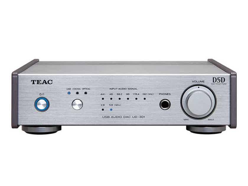 TEAC UD-301 Dual Mono DAC/Headphone Amp: Brand New-in-Box; Full Warranty; 40% Off