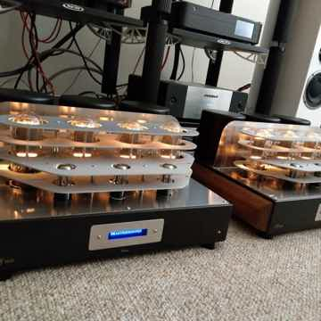Mastersound  PF100 mono Amplifiers