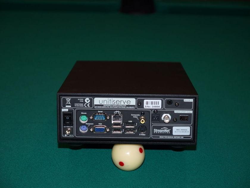 Naim Audio Unitiserve 2TB .. PLUS .. Teddy Pardo power supply