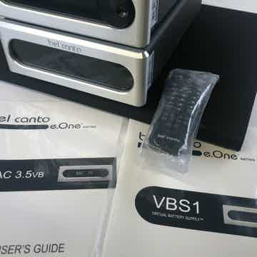 Bel Canto DAC3.5VB D/A Converter and VBS1 Virtual Power...