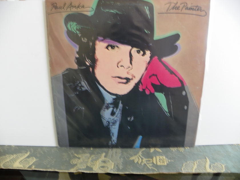 PAUL ANKA  - THE PAINTER Andy Warhol Pop Cover
