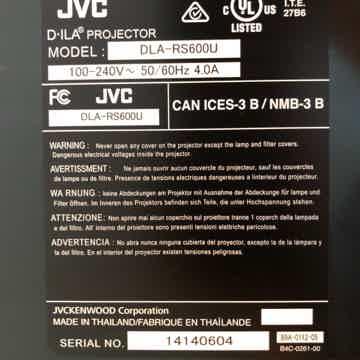 JVC  DLA-RS600U (750R) 4K D-ILA Projector