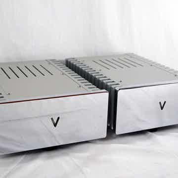 Valvet A4 mono-blocks with Chrome front