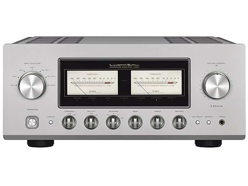 Luxman L-509x Stereo Integrated Amplifier; Remote; L509X; MM / MC Phono (New) (19192)