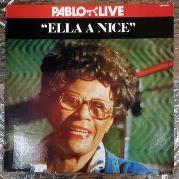 Ella Fitzgerald - Ella A Nice EX 1983 Reissue Vinyl LP ...