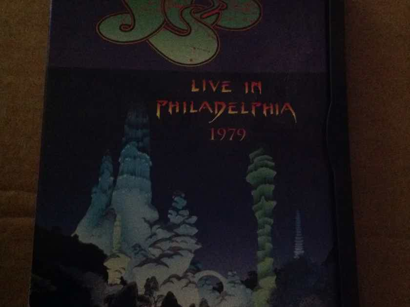 Yes - Live In Philadelphia 1979 Dvd Region 1