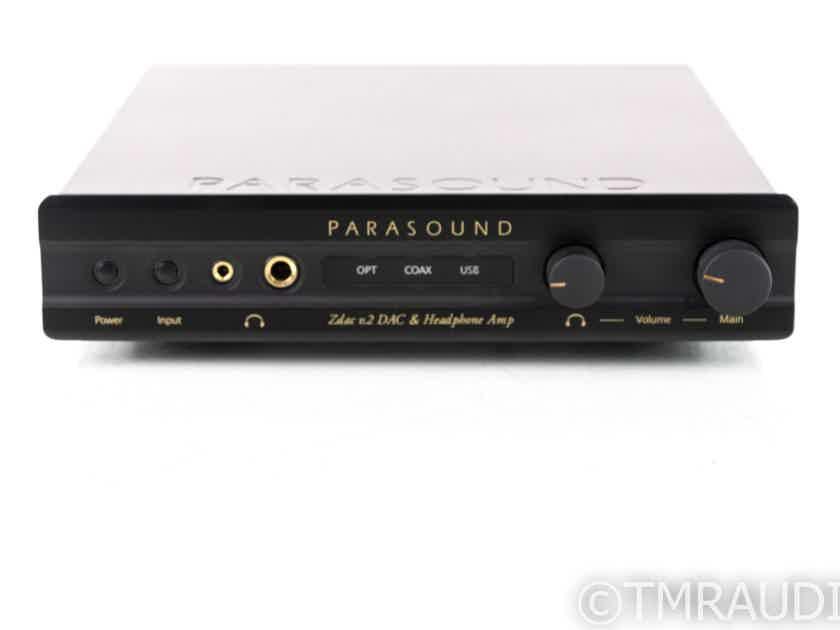 Parasound Zdac v.2 DAC / Headphone Amplifier / Preamplifier; V2 (19645)