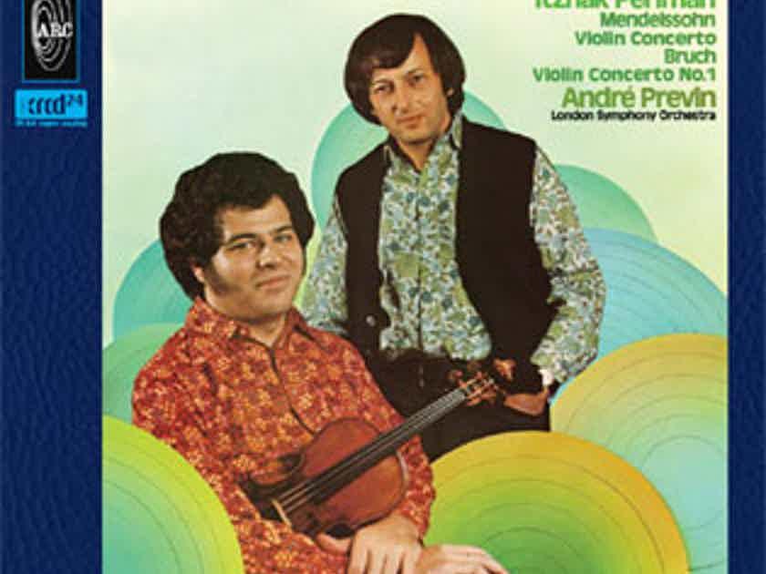 Itzhak Perlman & Andre Previn  Mendelssohn & Bruch Violin Concertos-JVC XRCD24 K2