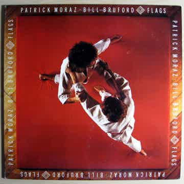Patrick Moraz • Bill Bruford -  Flags - 1985 EG Records...