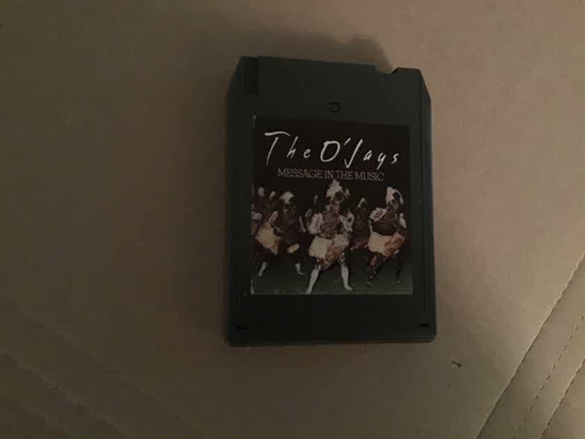 The O'Jays  Message In The Music Quadraphonic 8 Track