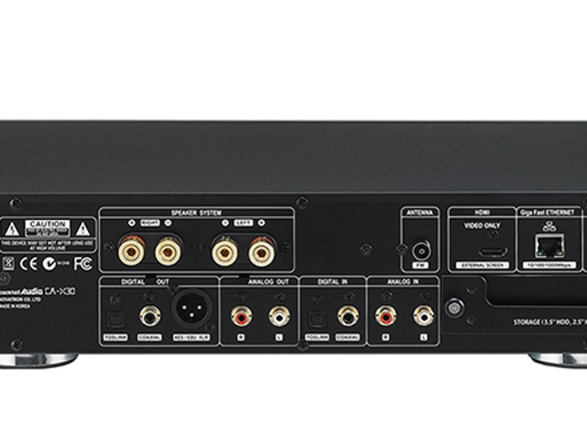 COCKTAIL AUDIO X30 Music Server/Streamer, DAC & Amp; New-in-Box; 2 Yr. Warranty; 50% Off; Free Shipping