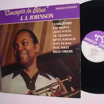 Pablo jazz JJ Johnson concepts in blue 1981 2312 -123