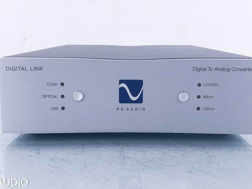 PS Audio Digital Link III USB DAC D/A Converter; DL-3 (2/2) (14270)