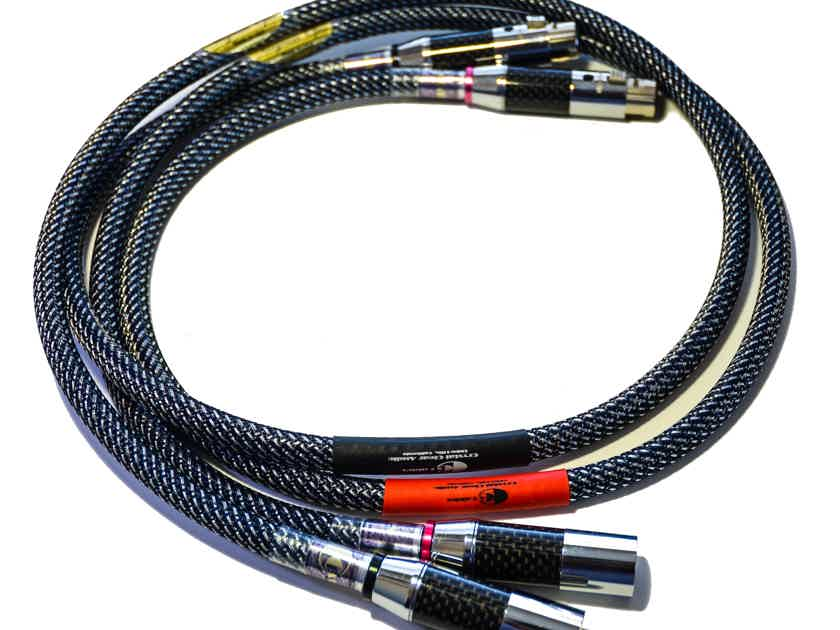 Crystal Clear Audio Magnum Opus Series XLR Interconnects 1.2 m Pair