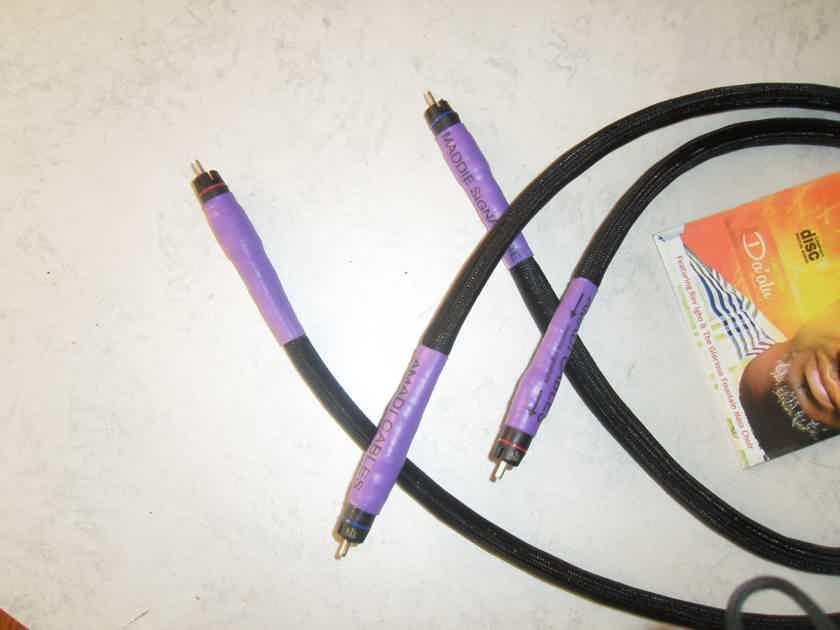 Amadi Cables Maddie sig. .1m  KLE  bullet plug.