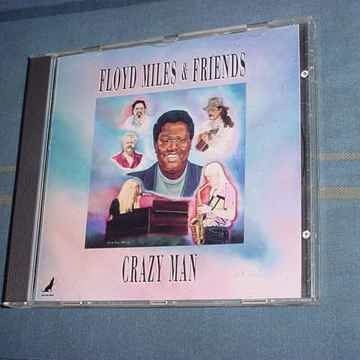 Floyd Miles & friends  - crazy man cd 1992 wild dog series