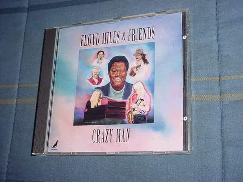Floyd Miles & friends  - crazy man cd 1992 wild dog series