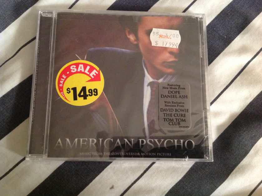 David Bowie Tom Tom Club American Psycho Soundtrack Sealed Compact Disc