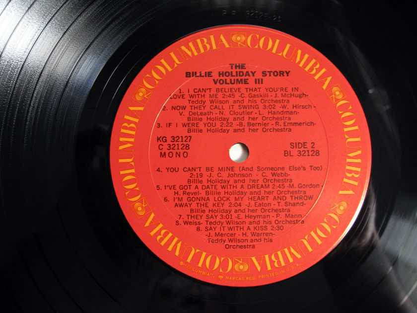 Billie Holiday - The Billie Holiday Story Volume III -  Reissue Columbia ‎PG 32127
