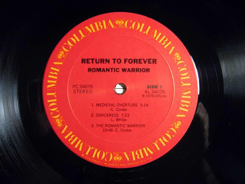Return To Forever - Romantic Warrior - 1976 Columbia PC 34076