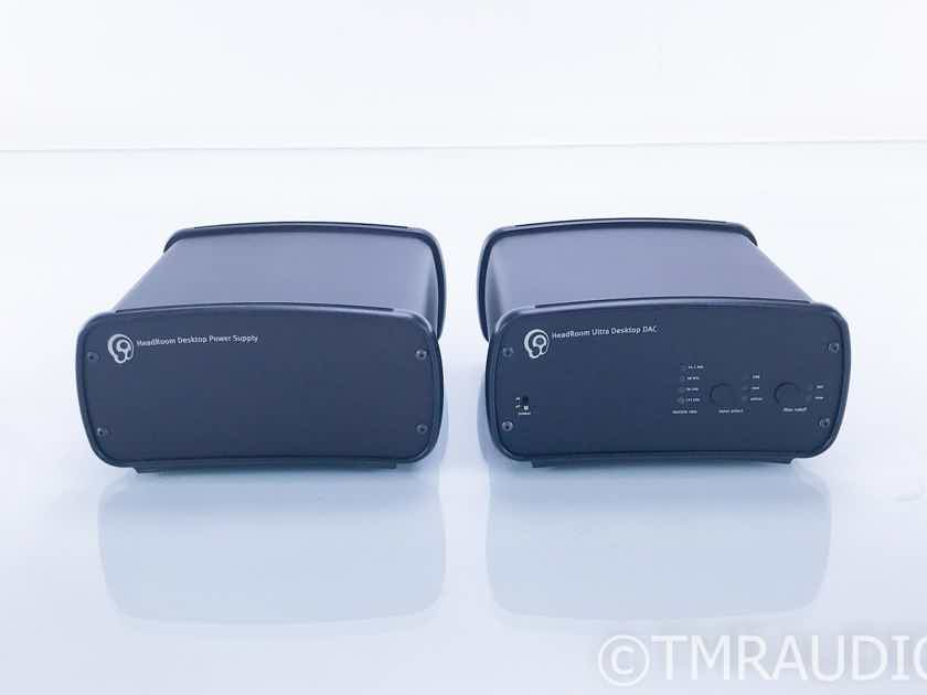 HeadRoom Ultra Desktop DAC; D/A Converter w/ Desktop Power Supply (17179)